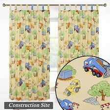 Kids Children Tab Top Window Curtain Drapes Boys Girls Bed Room Playroom Panels