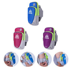 NEW Running Jogging Armband Arm Band Bag Gym Cell Phone Pouch & Earphone Outlet