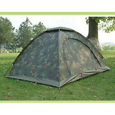 Outdoor Portable 2-3 Person Camping Waterproof folding tent Camouflage Hiking