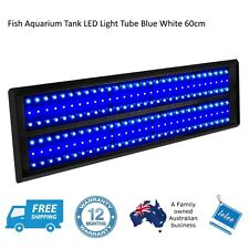 Fish Aquarium Tank LED Light Tube Blue White 60cm