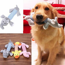 Soft Pet Puppy Chew Squeaker Squeaky Plush Sound Pig Elephant Duck For Dog Toy