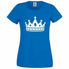 Womens The Crown Girls Top Novelty Summer Printed Casual Slim Fit Lot T Shirt