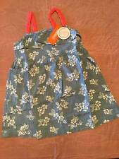 NWT Gymboree Tropical Breeze Blue Chambray Floral Sundress Sz 5 or 6