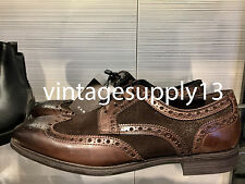 ZARA MAN CONTRAST BROWN LEATHER SHOES 39-45 REF. 2021/202