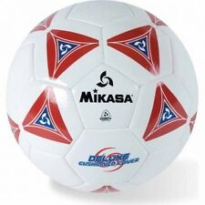 Mikasa Soft Soccer Ball, Size 5, Red/White. Free Shipping