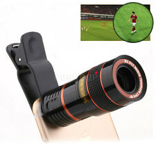 HOT 8X 12X Zoom Phone Camera Telephoto Telescope Lens +Clip For iPhone Samsung