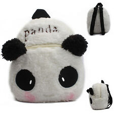 New! Baby Toddler Kids Child Mini Cartoon Panda Backpack Schoolbag Shoulder Bag