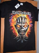 IRON MAIDEN BOOK OF SOULS SHIRT - TOUR DATES NORTH AMERICA - NEW