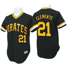 *NEW* Pittsburgh Pirates Mitchell Ness Adult #21 Clemente 1979 Jersey Black NWT