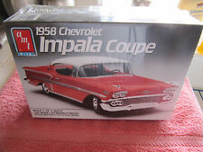 VINTAGE AMT 58 CHEVY IMPALA COUPE FACTORY SEALED 3IN1 KIT #6548