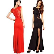 Sexy Women Lace Wedding Cocktail Party Formal Evening Maxi Long Dress Clubwear