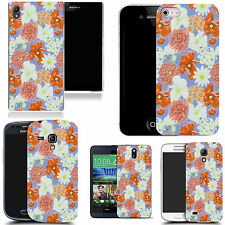 art case cover for many Mobile phones -  nursery floral silicone