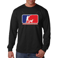 Major League Duck Hunting Dog Hunter Funny Long Sleeve T-Shirt