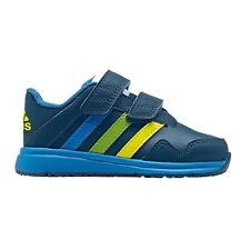 adidas SNICE 4 CF INFANT BOY'S SHOES,SILVER/BLUE *German Brand-Size US 4, 5 Or 6
