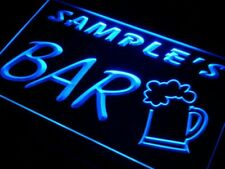 Personalize bar sign LED light custom Name sign Home Bar Beer Pub wall decor man