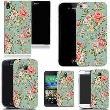 art case cover for various Mobile phones - elegant floral silicone