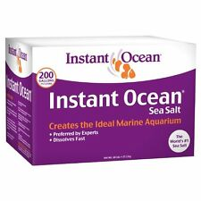 Instant Ocean Sea Salt 10 | 25 | 50 | 160 | 200 Gallons FREE 2 DAY SHIPPING