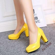 Women High Heel Casual Shoes Ladies High Heels OL Court Shoes Pumps Fuax Leather