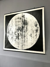 Moon Map Lunar Chart Pull Down Map Large Maps Space Science Astronomy