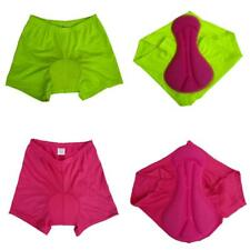 Women Cycling Shorts Underwear 3D Gel Padded Bike Bicycle Pants Clothing Pink