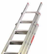 Lyte Aluminium Extension Ladders Triple / 3 Section DIY BS2037 Class 3 UK Made