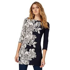 The Collection Womens Navy Floral Print Tunic Dress From Debenhams