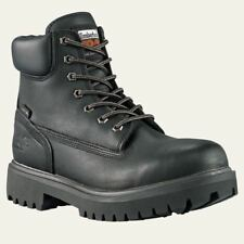 """Timberland Pro Boots Mens Direct Attach 6"""" Soft Toe Waterproof & Insulated Black"""