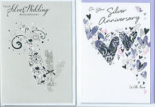 Various on Your Silver Wedding Anniversary (25 Years) Card