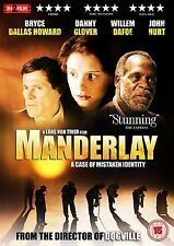 Manderlay DVD Danny Glover Willem Dafoe Lars Von Trier UK Release New Sealed R2