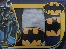 NEW 3 PACK OF BOYS MARVEL BATMAN 100% COTTON BRIEFS - AGE 6-8,9-10 YRS