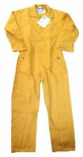 Nomex IIIA 4.5 oz Unlined FR Flame Resistant Coveralls Yellow Work Uniform CO07