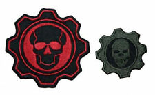 Gears of War Embroidered Patch Sew/Iron-on 2 Styles