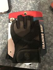 HARBINGER  MENS TRAINING GRIP WEIGHT LIFTING GLOVES