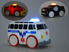 Toy Car Touch N Go Racers Police Fire Truck Ambulance