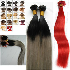 50/100S Omber Keratin Fusion U Nail Tip Blonde Remy Human Hair Extensions 1.0G