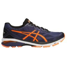 Asics GT 1000-5 MEN'S RUNNING SHOES, NAVY/ORANGE/BLACK - Size US 7, 8, 8.5 Or 9