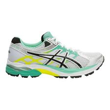 Asics Gel-Pulse-7 WOMEN'S RUNNING SHOES, WHITE/GREEN- Size US 6, 6.5, 7 Or 7.5