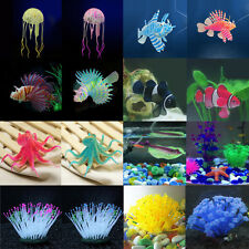 Decor Fish Tank Aquarium Decoration Artificial Glowing Effect Fish Tank Ornament