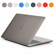 For Macbook Pro Air 11 13 15 Rubberized Hard Case + Keyboard Skin Frosted Cover