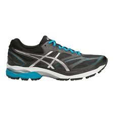 Asics Gel-Pulse-8 MEN'S RUNNING SHOES, BLACK/SILVER/BLUE-Size US 9.5, 10 Or 10.5