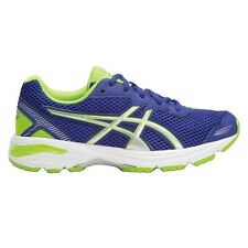 Asics GT 1000-5 BOY'S RUNNING SHOES,BLUE/SILVER/GREEN*JP Brand-Size US 5, 6 Or 7