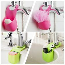 Creative Folding Silicone Hanging Kitchen Bathroom Storage Holders Bags