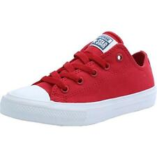 Converse Chuck Taylor All Star II Junior Salsa Red Textile Trainers