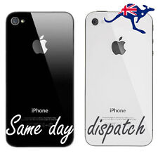 5 x New Battery Cover Back Glass Rear Panel Replacement for Apple iPhone 4 4S