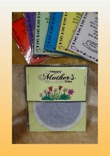 MOTHERS DAY Tea Bag Novelty Idea Present Thank You In Different Colour Card Gift