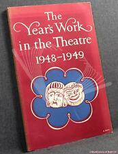 Year's Work in the Theatre 1948-1949~Trewin; 1949