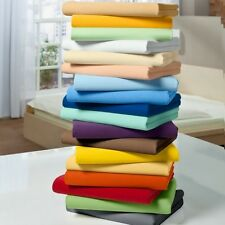 Luxury Bedding Collection 1000TC Egyptian Cotton Single Size All Solid Color