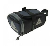 Axiom RIDER DLX SADDLEBAG Water-Resistant BLACK/GREY Polyester - Small Or Medium