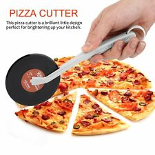 Top Spin Slice Record Player Pizza Cutter Vinyl Record Design Pizza Cutter ID