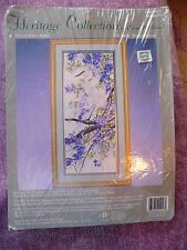 Enchanted April Heritage Collection Crewel Embroidery Kit by Elsa Williams, Rare